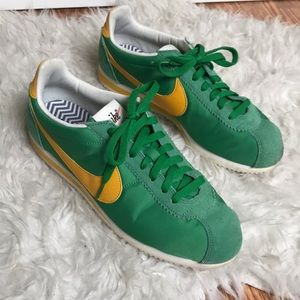 new product 2a87d c5cba coupon for nike cortez green yellow fe918 84b85
